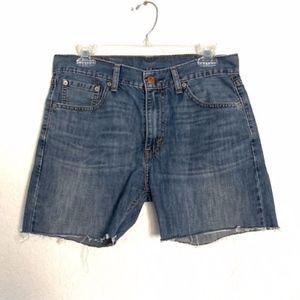 Levi's | 505 Cut Off Shorts W30 L30 Denim Shorts